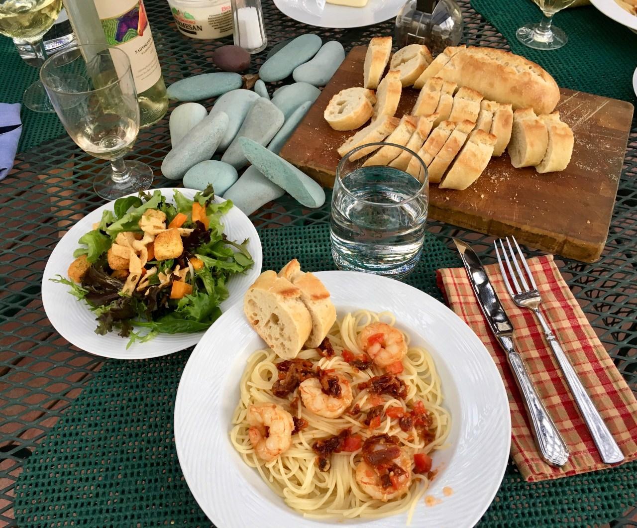 Dinner at Tom and Nancy's House