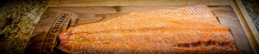 Father's Day: Cedar Planked Salmon
