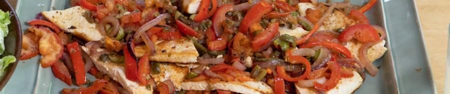 Tofu Planks Veracruzana
