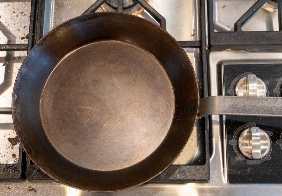 Seasoning a Carbon Steel Skillet