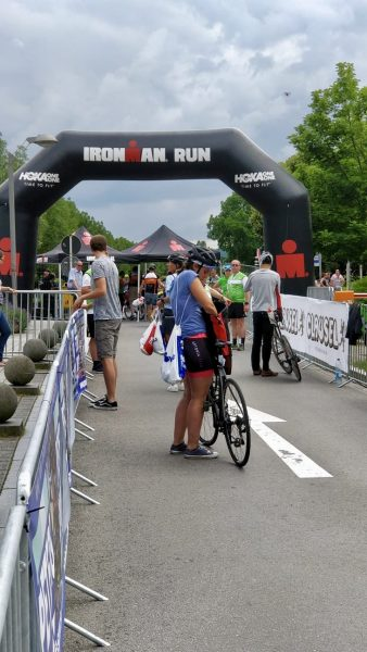 2fortri Ironman 70.3 Luxembourg Marine zone transition