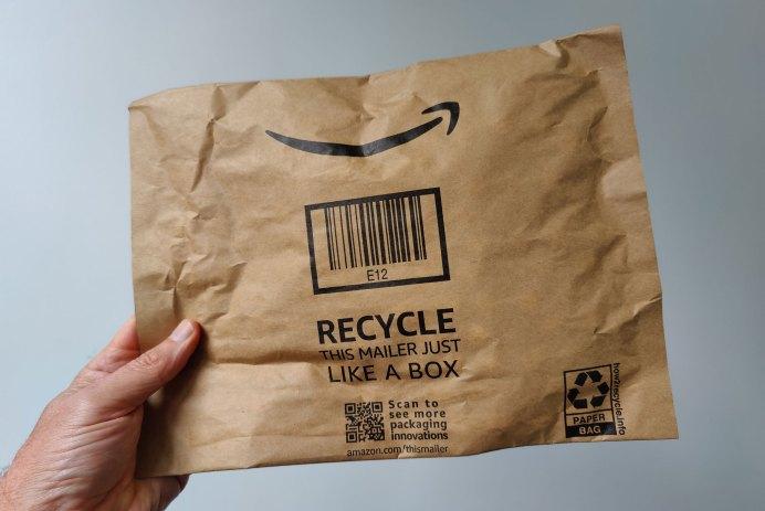 Enveloppe Amazon papier