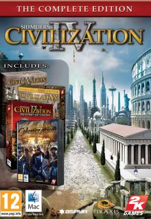 Sid Meiers Civilization IV The Complete Edition MAC