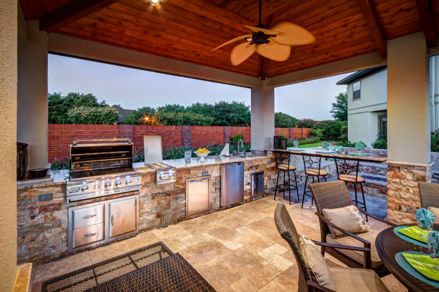 Kamado Grill - Outdoor Cooking at its Finest | Platinum Pools on Complete Outdoor Living id=75549