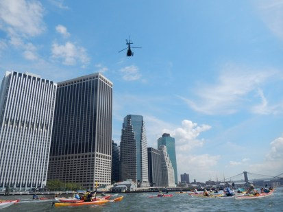 10:38 Helicopter over NY Harbor