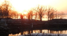 Sunrise at Horseshoe Harbor