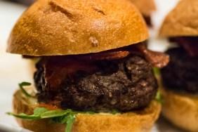 Chef Bernie Blended Burger Close Up