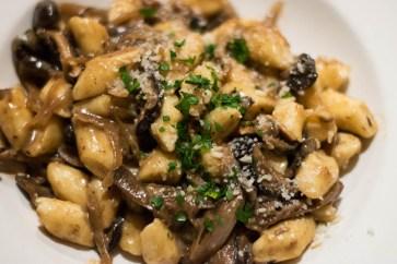 Ricotta Gnocchi with Wild Mushroom Ragu
