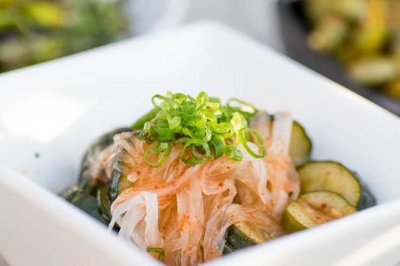 Sushi Roku Kimchee Sunomono