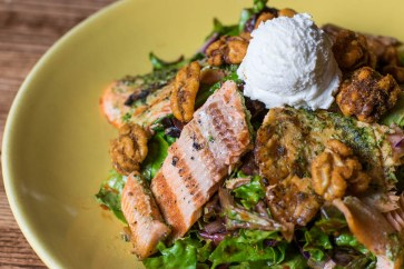 Z' Tejas Grilled Ruby Trout Salad