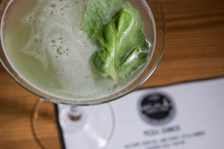 Cucumber Basil Martini at Wink 24 2geekswhoeat.com #cocktails #Phoenix