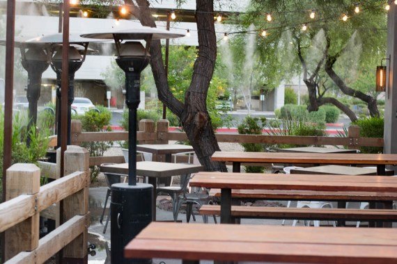 Salty Sow Patio