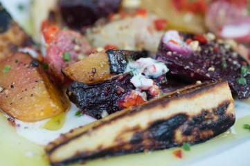 St. Francis Wood Oven Roasted Vegetable Salad Close