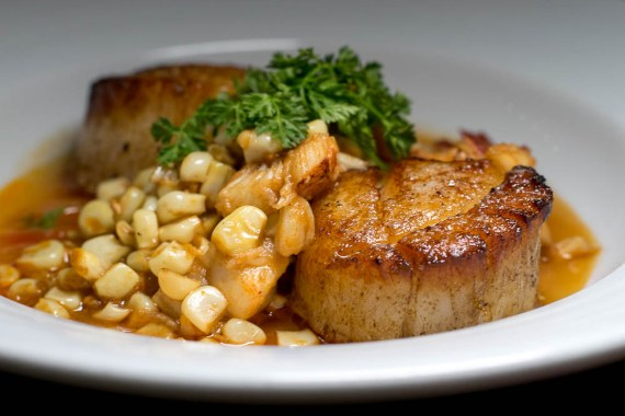 T. Cook's Pan Seared Maine Divers Scallops