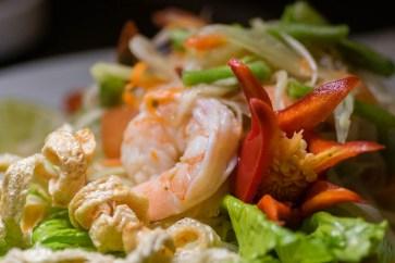Papaya Salad at Zen Culinary 2geekswhoeat.com