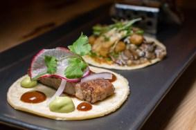 Lengua Taco at CRUjiente Tacos 2geekswhoeat.com