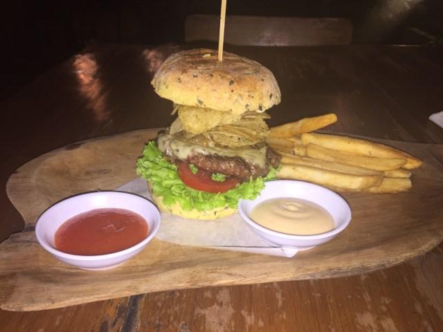 Burger, Seminyak, Bali