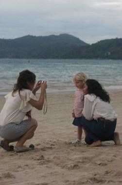 Barnen är omåttligt populära bland lokalbefolkningen, men även bland andra turister
