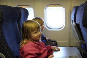 Signe undrar om man far nagon mat nar man flyger med American Airlines