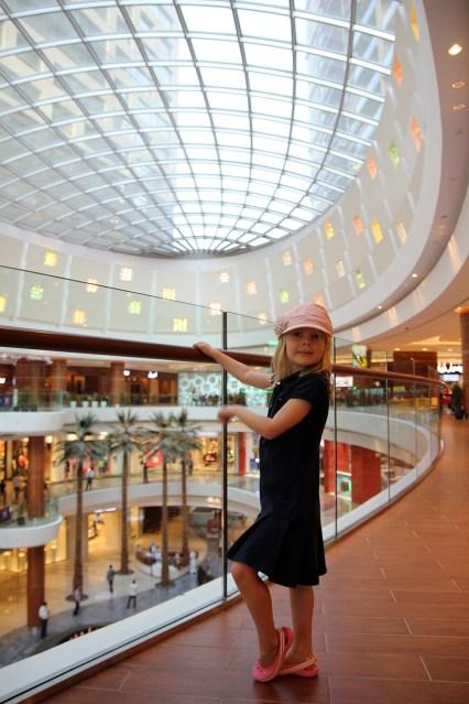 Vilja i shoppinggallerian Al Ghurair Centre