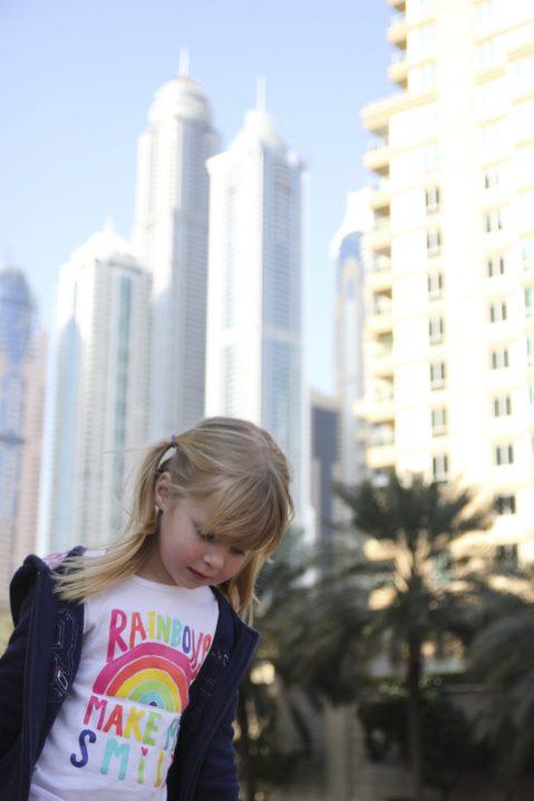Signe i Dubai Marina