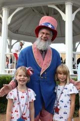 Uncle Sam var givetvis på plats