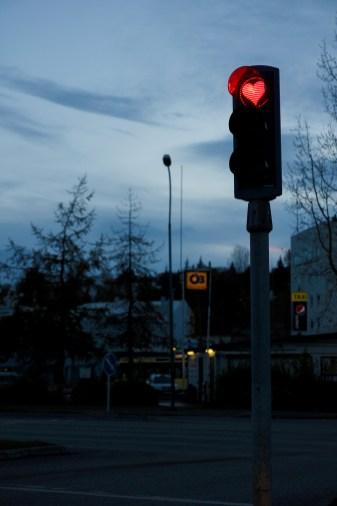 Trafikljus i Akureyri