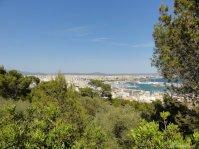 Castell de Bellver Blick auf Palma