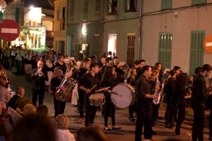 Musik Festzug Santa Catalina