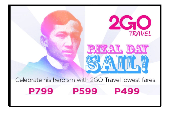 2Go Promo Tickets Available 2017