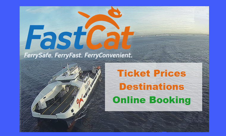 FastCat Ferry Ticket Rates, Destinations, Online Booking