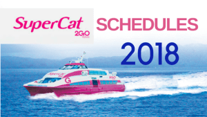 supercat schedules 2018
