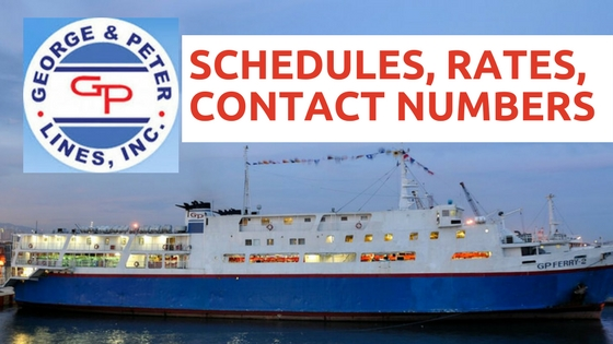 george and peter lines SCHEDULES, RATES, CONTACT NUMBERS