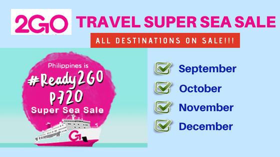 2go promo tickets september to december 2018