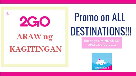2go travel promo araw ng kagitingan