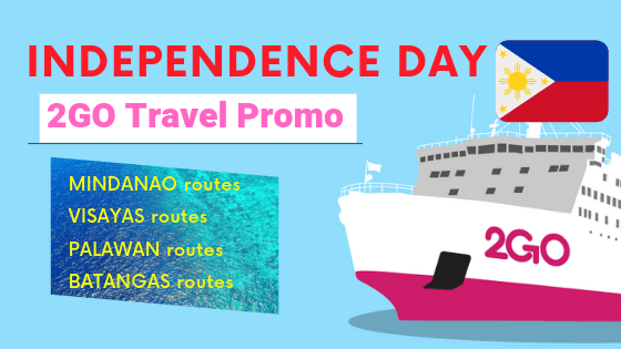 Independence day promo of 2Go