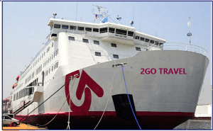 2Go Promo Ticket 2016 to 2017- Shipping Schedules and Destinations of 2 Go Travel Shipping Vessels