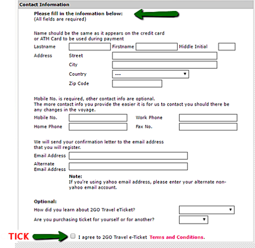 Step_4-Contact_Information & eTicket Agreement