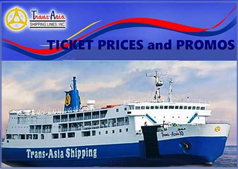 Trans-Asia Ticket Prices and Promos 2016