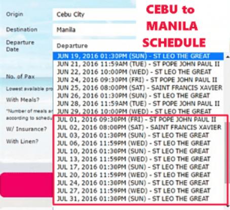 Cebu_to_Manila_July_2016_Schedule
