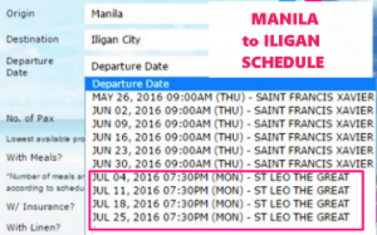 Manila_to_Iligan_July_2016_Schedule