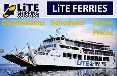 Lite Ferries Routes, Destinations, Ship Schedules and Ticket Prices