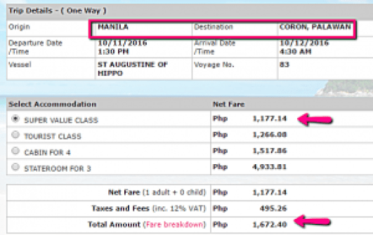 manila_to_coron_october_2016_ticket_rate