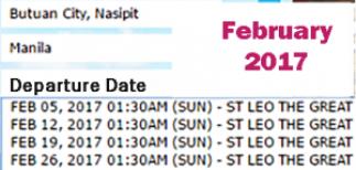 Butuan-to-Manila-Ship-Schedule-February-2017