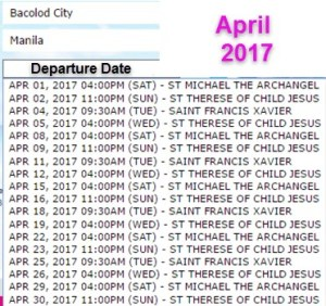 Bacolod-to-Manila-April-2017-2Go-Travel-Schedule