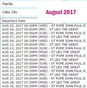 Manila-to-Cebu-2Go-Boat-Trips-August-2017