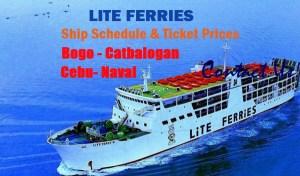 Lite-Ferries-Ship-Schedule-Fares-Cebu-Naval-Bogo-Catbalogan.
