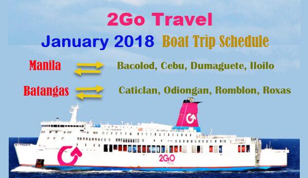 Go Travel Schedule Manila To Cebu January