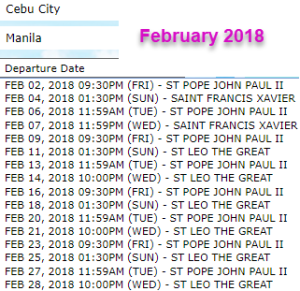 cebu-to-Manila-2go-travel-schedule-february-2018