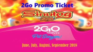 2Go Travel Sinulog Promos: June, July, August, September Trips